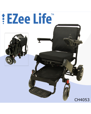 "2G EZee Fold Elite Electric Wheelchair w/ 10"" Rear Wheels - CH4053/4054"