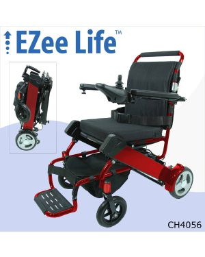 "2G Folding Electric Wheelchair w/ 8"" Rear Wheels - CH4051/4056"