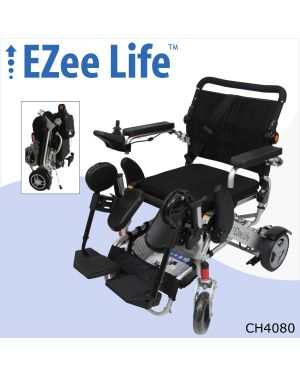 "3G Platinum Folding Electric Wheelchair w/ 8"" Rear Wheels - CH4080"